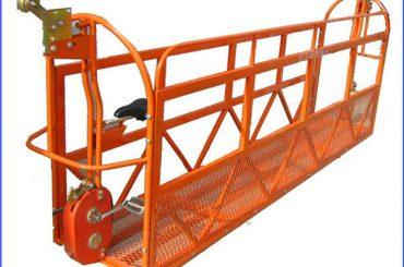 1000 kg 7.5 mx 3節鋁合金懸掛式工作平台ZLP1000
