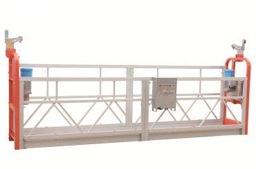 zlp630塗漆鋼立面清洗懸浮工作平台