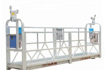 10m 800kg懸掛式腳手架系統鋁合金,起升高度300米