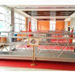 zlp630鋁製懸掛平台(ce iso gost)/高層窗戶清潔設備/臨時吊籃/搖籃/鞦韆舞台熱