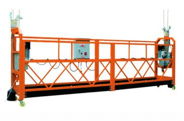 2.5M x 3節1000kg懸掛式升降平台提升速度8-10米/分鐘