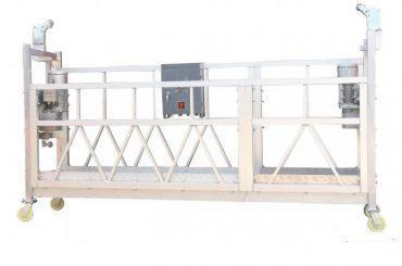 鋼塗漆熱鍍鋅鋁ZLP630懸掛式工作平台,用於建築立面塗裝
