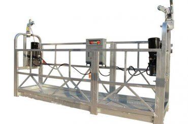 ce / iso-approved zlp電動建築/建築物/外牆懸掛平台/搖籃/纜車/鞦韆/攀爬設備
