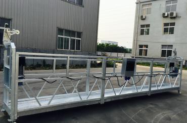 可調鋁合金繩懸掛平台zlp 800用於翻新/噴漆