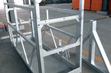 高安全繩懸掛平台電梯安裝平台zlp630 zlp800 zlp1000