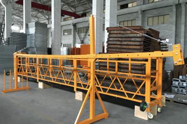 zlp 500 lp 630暫停鋼絲繩平台用於建築