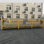 ce認證zlp630鋁製電動懸掛吊籃用於施工