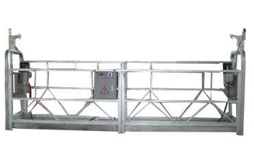 熱鍍鋅懸浮工作平台zlp630,適用於高層建築施工