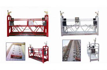 繩懸掛式通道平台,zlp630施工升降式吊籃機